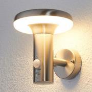 LED-utevägglampa Pepina med rörelsesensor